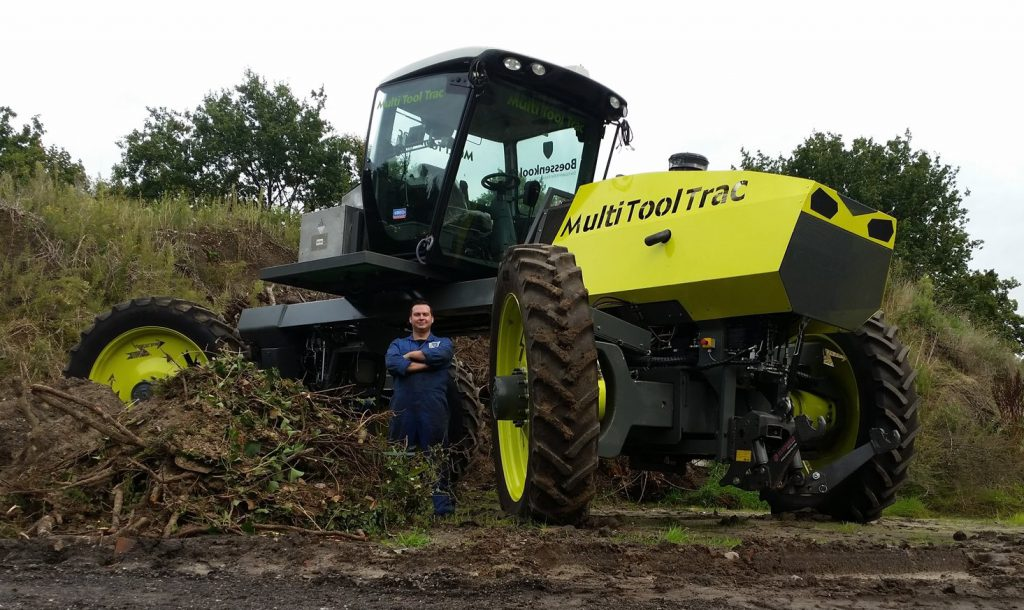 Multi Tool Trac electric tractor dutch
